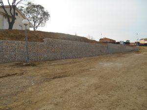 SOUTENEMENT EN GABIONS - CANET EN ROUSSILLON