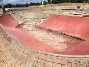skate park Moulin à Vent 2016
