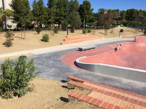 SKATE PARC AMENAGEMENT